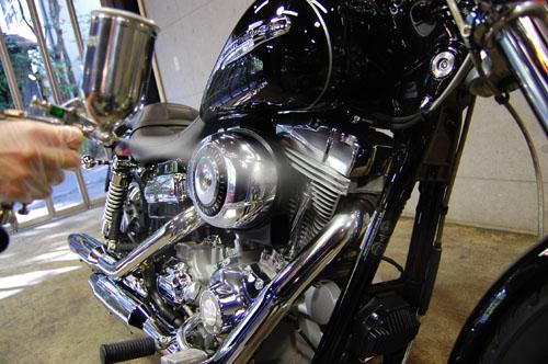 バイク-スプレー